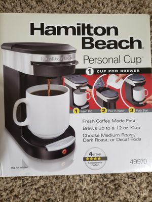 Hamilton Beach coffee maker for Sale in Penbrook, PA