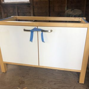 Kitchen Sink Cabinet And Butcher Block Counter for Sale in Portland, OR