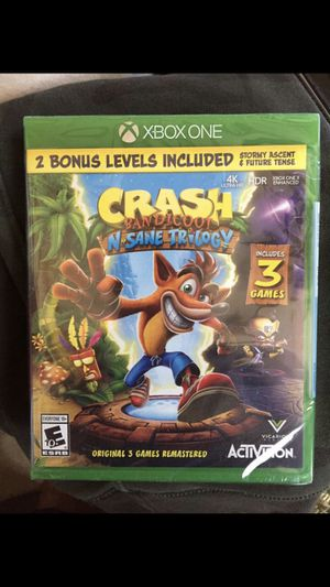 CRASH (Xbox one) for Sale in Price, UT