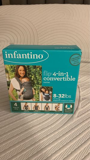 Infantino 4-in-1 convertible baby carrier for Sale in Miami, FL