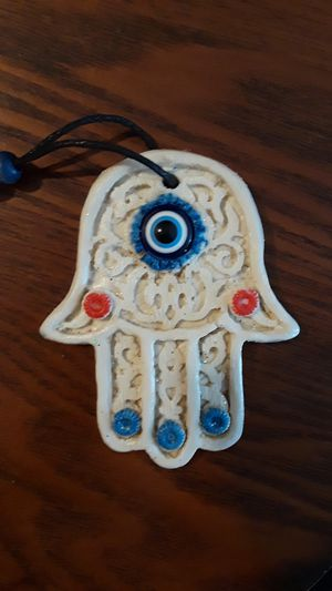 Gorgeous vintage hamsa home decor for good luck and protection. for Sale in New York, NY