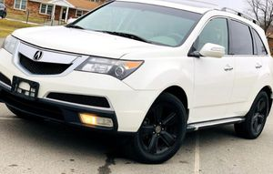 White. 2010 Acura MDX AWDWheels for Sale in Syracuse, NY