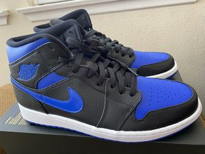 Brand New Air Jordan 1 Mid Royal (2020) sz 10.5 for Sale in Irvine, CA