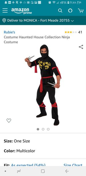 Ninja costume for Sale in Fort Meade, MD