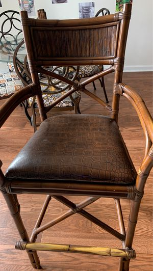 4 Bistro Chairs from Pier One Imports for Sale in Ashburn, VA