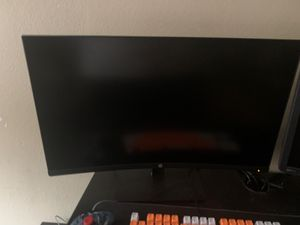 HP Curved Monitor 27' for Sale in Los Angeles, CA