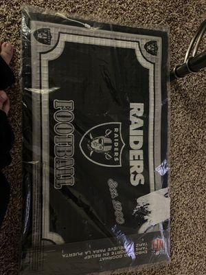 Raiders door mat for Sale in Wheat Ridge, CO