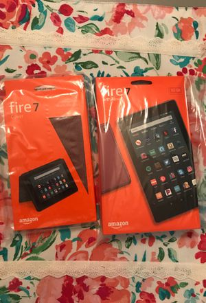 Amazon Fire Tablet and Case Bundle for Sale in Las Vegas, NV