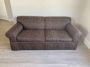 Leopard couch brown originally cost over 900$ for Sale in Scottsdale, AZ