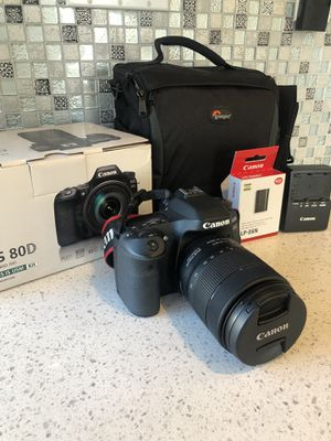CANON 80D LIKE NEW $750 for Sale in San Leandro, CA