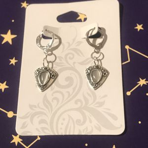 Sterling silver moonstone dangle earrings for Sale in Tempe, AZ