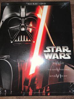 Star Wars Trilogy DVD/Blu-ray Set for Sale in Lynnwood,  WA
