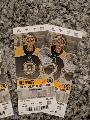 Bruins Tickets for Sale in Littleton, MA