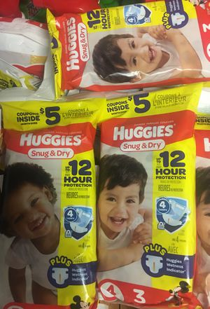 Huggies, luvs, pampers and wipes ! for Sale in Forest Park, GA