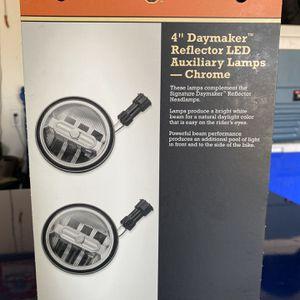 """Harley Davidson 4"""" Daymaker LED Lamps for Sale in Riverside, CA"""