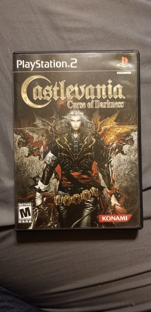 Castlevania Curse of Darkness for PS2 for Sale in Rancho Cucamonga, CA