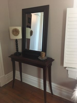 Table and Mirror for Sale in Columbus, OH