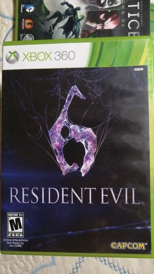 Pre-owned Resident Evil 6 for XBOX360 for Sale in Rosemead, CA