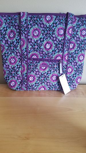 Vera Bradley Lilac medallion villager totes and cosmetic bag for Sale in Monee, IL