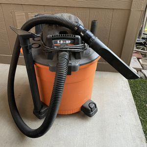 Ridgid Wet/ Dry Shop Vac 16 Gallon for Sale in Riverside, CA