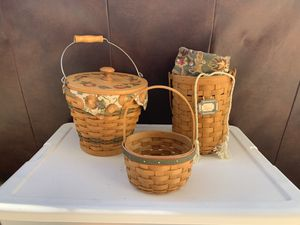 Longaberger baskets for Sale in Land O Lakes, FL