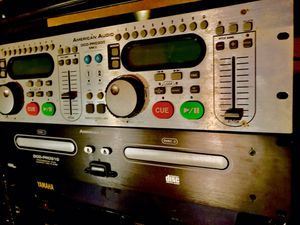 American Audio DCD Pro 310 & MK|| dual rackmount CD player $85ea $150 both NEW for Sale in Bakersfield, CA