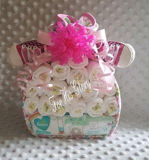Baby Bundle Diaper Cake for Sale in Middleburg, FL