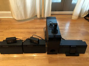 Sony Wireless Audio System - 3 Speakers and Subwoofer. 16gb iPod included!! for Sale in Chicago, IL