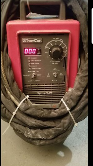 POWCON Plasma cutter and welder $550 for Sale in Stickney, IL