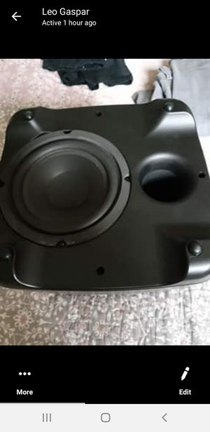 Polkaudio subwoofer... 4 sale for Sale in Andover, MA