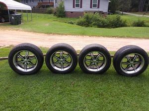 20in Rims and tires make me a offer for Sale in Morrisville, NC
