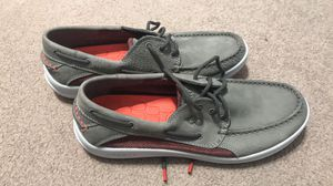Men's Sperry Top-Sider Gamefish 3-Eye Boat Shoe Grey Leather. 9.5 for Sale in O'Fallon, MO