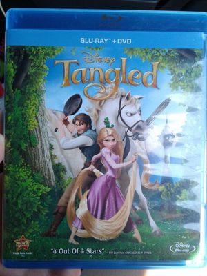 Tangled Blu-Ray for Sale in New Caney, TX