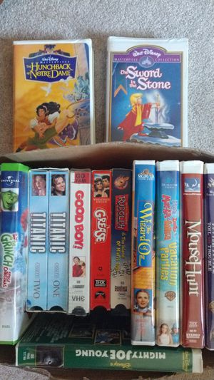 Children's VHS tapes for Sale in Everett, WA