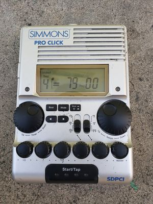 Simmons Pro Click metronome for Sale in Los Angeles, CA