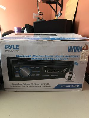 Marine sound system for Sale in The Bronx, NY