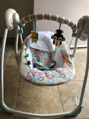 Portable baby swing for Sale in San Diego, CA