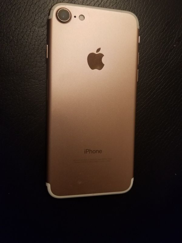 Iphone 7 Rose gold 128gb unlocked for any carrier