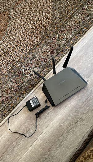 Netgear nighthawk smart WiFi router for Sale in Corona, CA