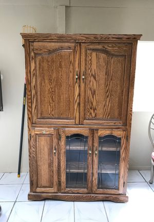 21 deep 6 feet tall 42 wide in rollers cabinet for Sale in Palmdale, CA
