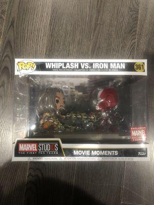 Funko Pops Marvel Movie Moments Ironman & Whiplash for Sale in Fontana, CA