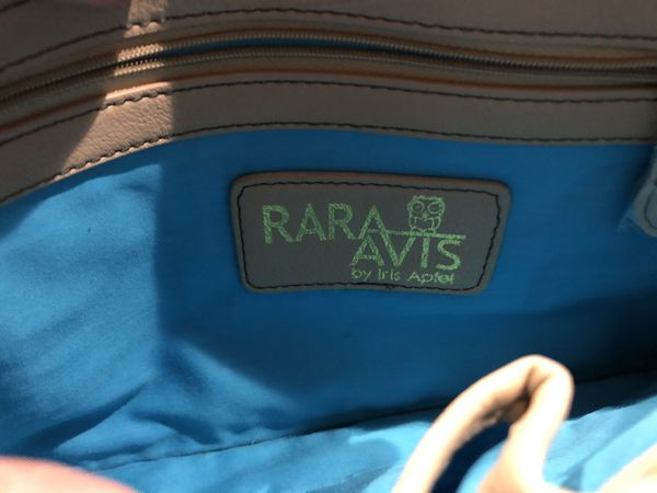 RARA AVIS by Iris Apfel Owl Crossbody or Shoulder Bag