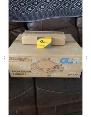 GLI pro professional turntable bd1600 - Brand New Never Used In Box for Sale in Lighthouse Point, FL