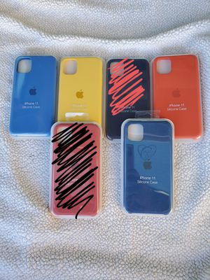 Iphone 11 silicone cases for Sale in Las Vegas, NV