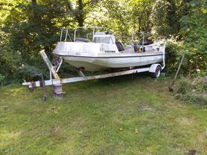 Pontoon boat and trailer for Sale in MI, US