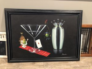 Michael Goddard Replica Painting with Frame for Sale in Bloomington, IL