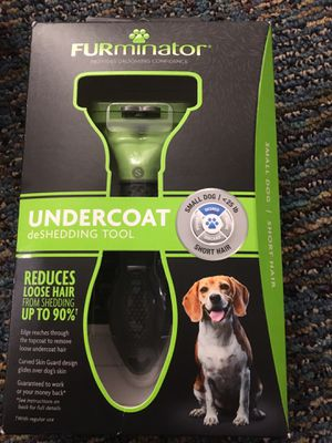 New Furminator deshedding tool for small dogs for Sale in Boyds, MD