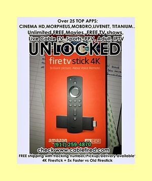 Gn get he rUltra new Amazon fire TV Stick for Sale in New York, NY