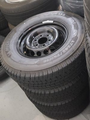 Brand new black Mercedes sprinter 16-in wheels with Michelin tires for Sale in Newport Beach, CA