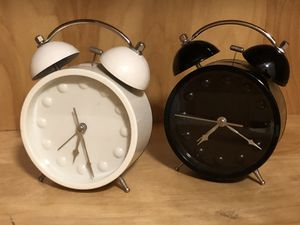 Two old fashioned Alarm Clocks for Sale in Ruskin, FL